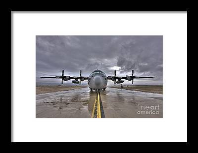 Taxiway Framed Prints