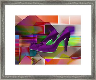 High Heel Shoes Framed Print