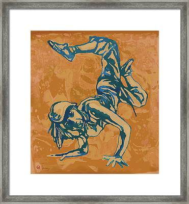 Hip Hop Street Dancing  New Pop Art Poster   Framed Print