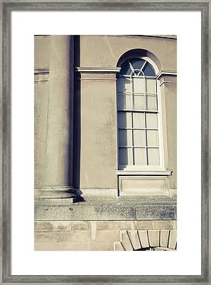 Historic Building  Framed Print by Tom Gowanlock