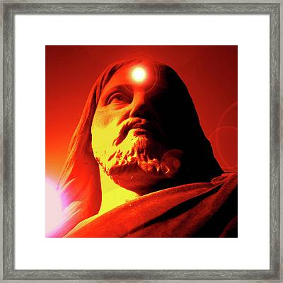 Holy Face No. 02 Framed Print