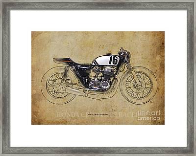 Honda Cb750 Cafe Racer Framed Print