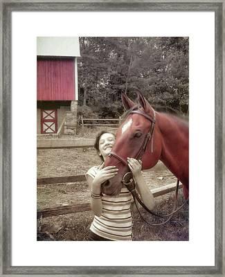 Horse Crazy Framed Print by JAMART Photography