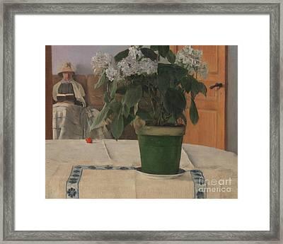 Hortensia Framed Print