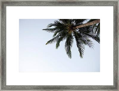 Huahin  Sand Beach Paradase View From Monkey Mountain Framed Print