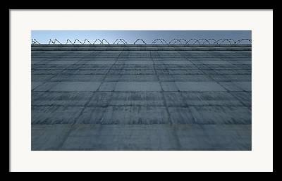 Barricade Digital Art Framed Prints