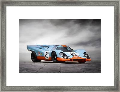 I Am Legend Porsche 917 Framed Print by Peter Chilelli
