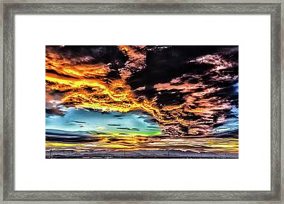 Framed Print featuring the photograph I Am That I Am by Michael Rogers