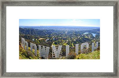 Iconic Hollywood  Framed Print by Art K