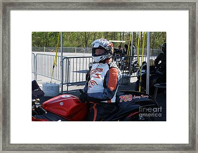 Idbl By Jtnorton Framed Print