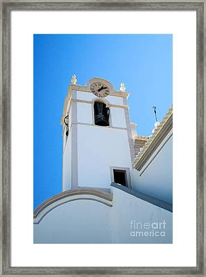Igreja De Sao Lourenco Dos Matos Framed Print by Carl Whitfield
