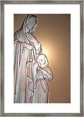 Immanuel Framed Print by Terence McSorley