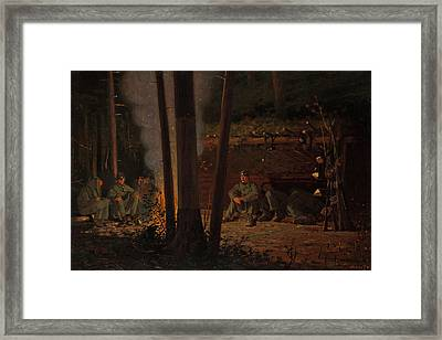 In Front Of Yorktown Framed Print by Mountain Dreams