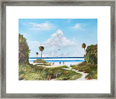 In Paradise Framed Print