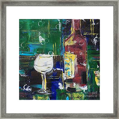 In Vino Veritas. Wine Collection 12 Framed Print