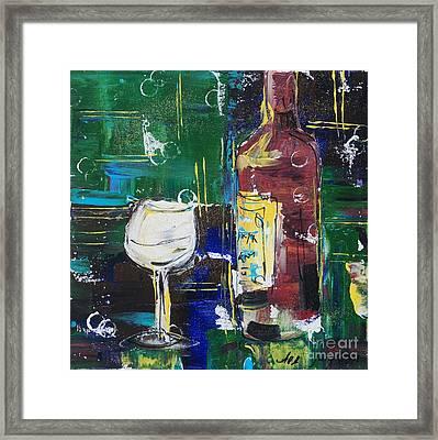 In Vino Veritas. Wine Collection 12 Framed Print