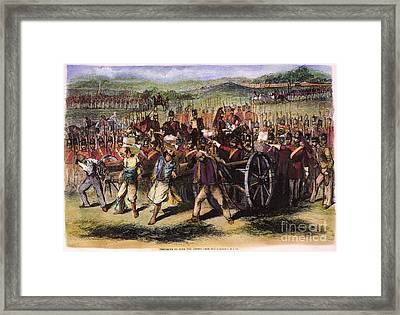 India: Sepoy Mutiny, 1857 Framed Print by Granger