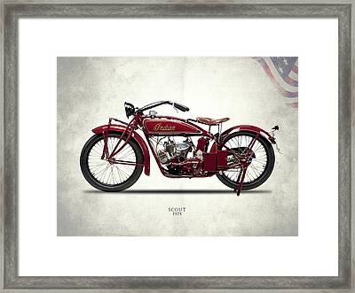 Indian Scout 1924 Framed Print