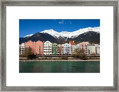 Innsbruck Framed Print by Andre Goncalves