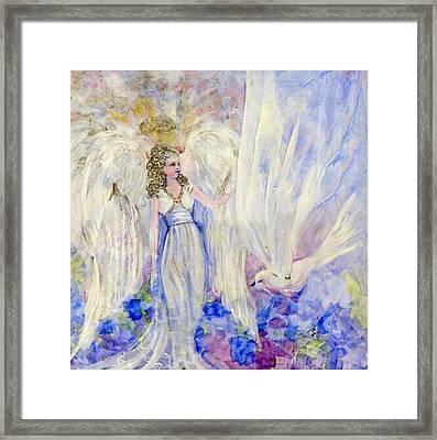 Inspiration Framed Print by Rosemary Babikan