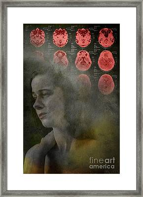Intense Pain Framed Print by George Mattei