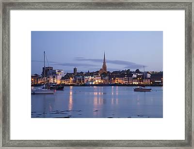 Irish Dusk Framed Print