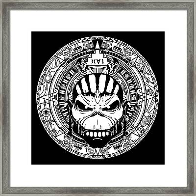 Iron Maiden Framed Print by Caio Caldas