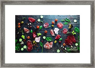 Italian Ham Framed Print