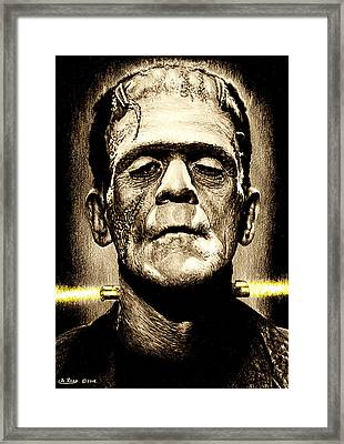 It's Alive Framed Print by Andrew Read