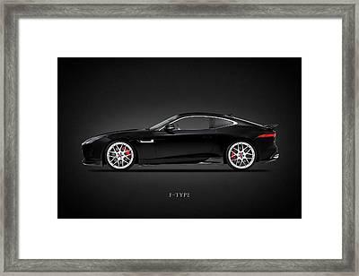 Jaguar F Type Framed Print