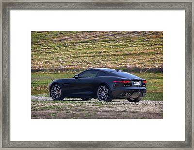 #jaguar #f-type #print Framed Print