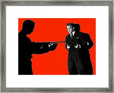 James Cagney As Gangster Rocky Sullivan In Angels With Dirty Faces 1938-2008 Framed Print by David Lee Guss