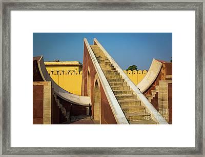 Jantar Mantar Framed Print