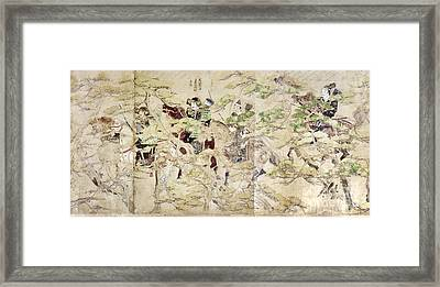 Japan: Mongol Invasion Framed Print
