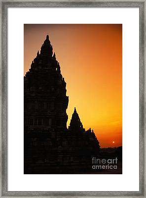 Java, Prambanan Framed Print by Gloria & Richard Maschmeyer - Printscapes