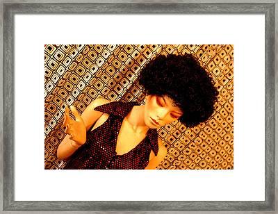 Jeanine Framed Print by Jez C Self