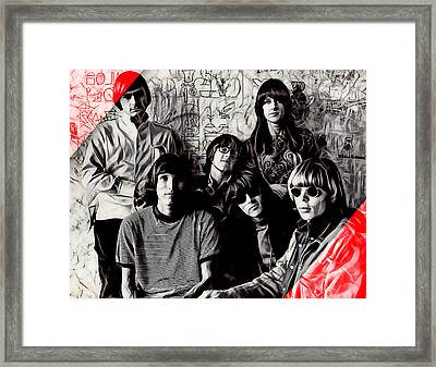 Jefferson Airplane Collection Framed Print
