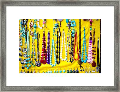 Jewellery Framed Print by Tom Gowanlock