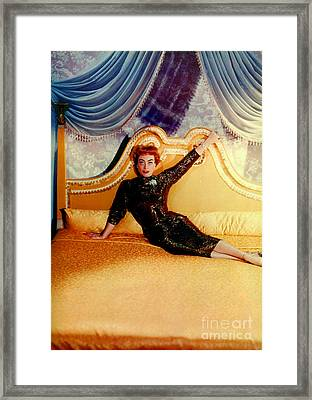 Joan Crawford (1905-1977) Framed Print