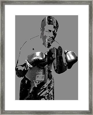Joe Frazier Collection Framed Print