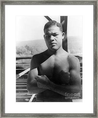 Joe Louis (1914-1981) Framed Print