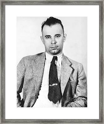 John Dillinger 1903-1934 Framed Print by Granger