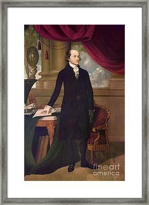 John Jay (1745-1829) Framed Print by Granger