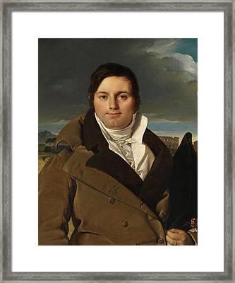 Joseph-antoine Moltedo Framed Print by Jean-Auguste-Dominique Ingres