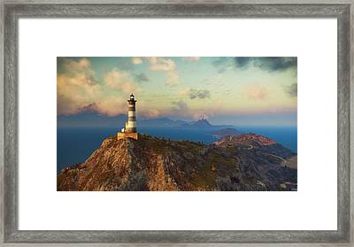 Just Cause 3 Scenery                   Framed Print by F S