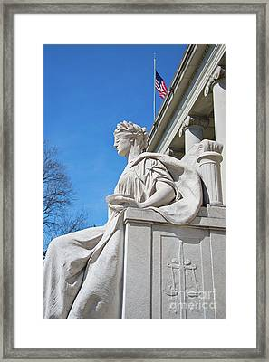 Justice Is Blind Framed Print by ELITE IMAGE photography By Chad McDermott