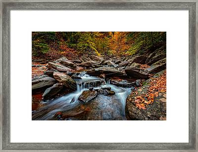 Kaaterskill Creek Framed Print