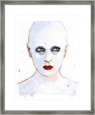 Kaia Framed Print by H James Hoff