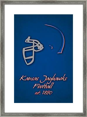 Kansas Jayhawks Framed Print by Joe Hamilton