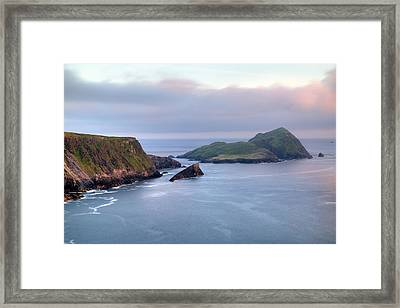 Kerry Cliffs - Ireland Framed Print